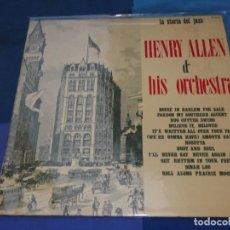 Discos de vinilo: BOXH67D LP JAZZ EUROPEO AÑOS 70-80 GRAN ESTADO HENRY ALLEN & ORCH. STORIA DEL JAZZ JOKER RECORDS. Lote 229743715