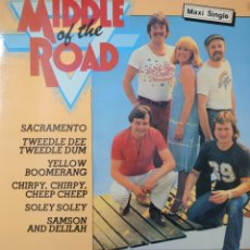 Discos de vinilo: MIDDLE OF THE ROAD MAXI-SINGLE SELLO CNR EDITADO EN ESPAÑA AÑO 1981.... Lote 229749975