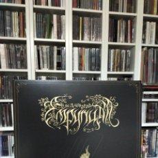 Discos de vinilo: EMPYRIUM - DER WIE EIN BLITZ VOM HIMMEL FIEL (VINYL LP   BROWN). Lote 229750305