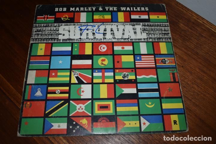 DISCO VINILO LP BOB MARLEY & THE WAILERS SURVIVAL (Música - Discos - LP Vinilo - Reggae - Ska)