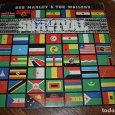 Discos de vinilo: DISCO VINILO LP BOB MARLEY & THE WAILERS SURVIVAL. Lote 229759025