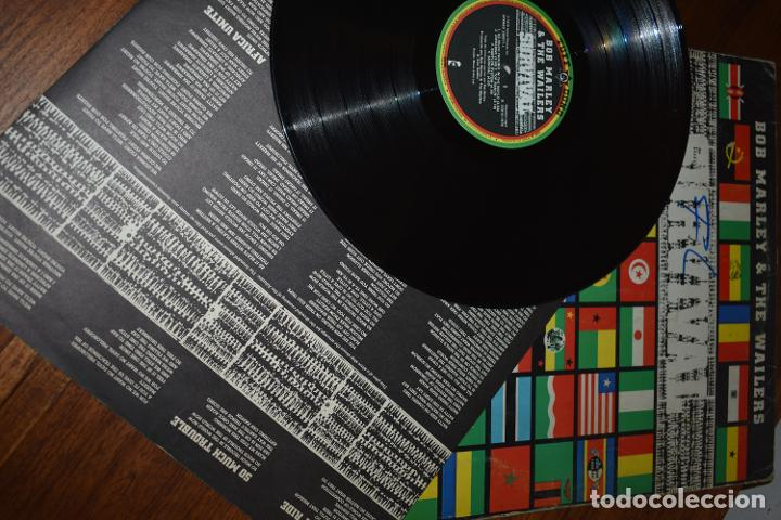 Discos de vinilo: DISCO VINILO LP BOB MARLEY & THE WAILERS SURVIVAL - Foto 3 - 229759025