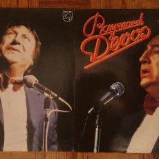 """Discos de vinilo: RAYMOND DEVOS – """"UN ANGE PASSE"""" + JE ROULE POUR VOUS"""" LABEL: PHILIPS – 9120 243. Lote 229762765"""