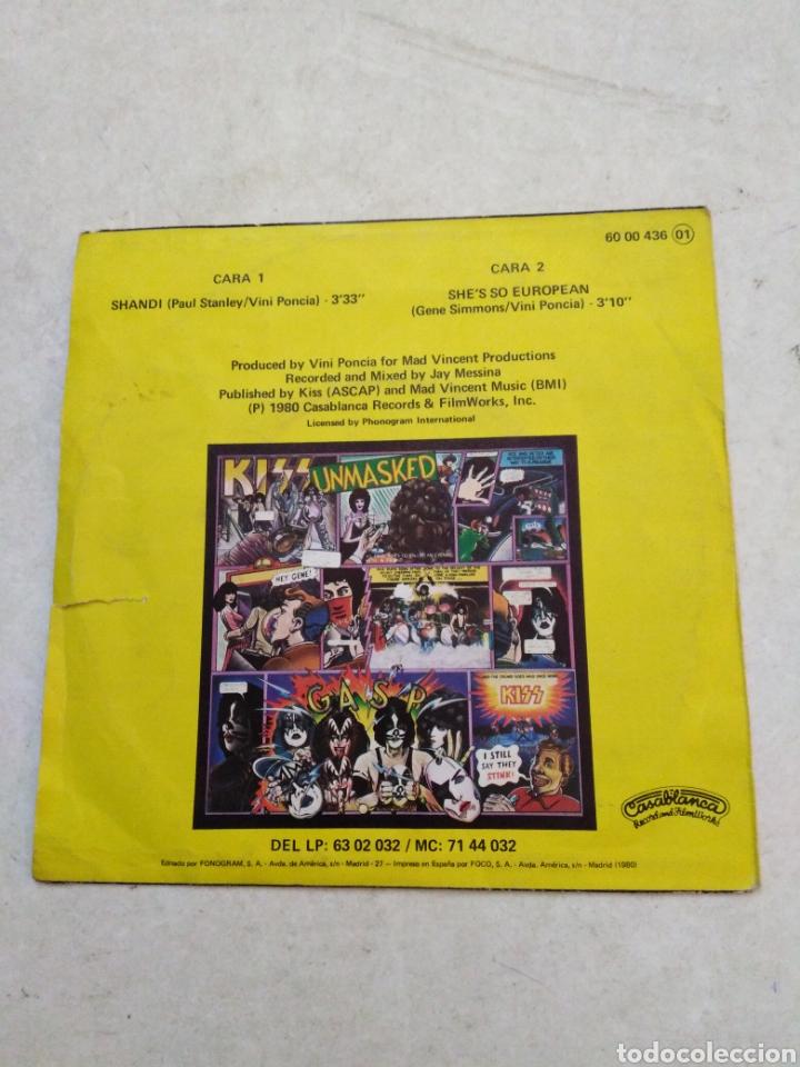 Discos de vinilo: Kiss ( shandi ) vinilo single - Foto 2 - 229770260