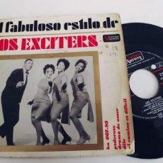 Discos de vinilo: LOS EXCITERS-EP PODEROSO +3. Lote 229777445