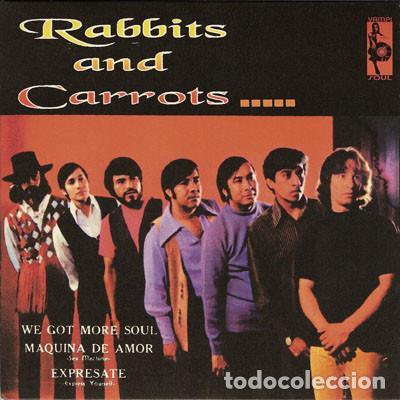 RABBITS AND CARROTS - EP 4 TEMAS - DESTRUYE EL VINO - EXPRESATE - MAQUINA DE AMOR (VAMPISOUL) (Música - Discos de Vinilo - EPs - Funk, Soul y Black Music)