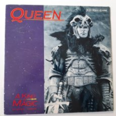 Discos de vinilo: QUEEN- A KIND OF MAGIC- SPAIN MAXI SINGLE 1986.. Lote 229802500