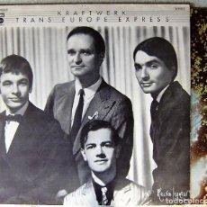 Discos de vinilo: KRAFTWERK.TRANS EUROPE EXPRESS...1ª EDICION ESPAÑOLA...EX. Lote 229803620