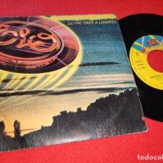 Disques de vinyle: ELO ELECTRIC LIGHT ORCHESTRA LAS TRAIN TO LONDON/CONFUSION 7'' SINGLE 1980 JET ESPAÑA SPAIN. Lote 229815305
