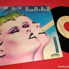 Dischi in vinile: LIPPS INC FUNKYTOWN/ALL NIGHT DANCING 7'' SINGLE 1980 CASABLANCA ESPAÑA SPAIN. Lote 229817325