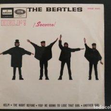 Discos de vinilo: THE BEATLES - HELP ! ( SOCORRO ) EP 4 TEMAS 1965 EDICION ESPAÑOLA. Lote 229832595