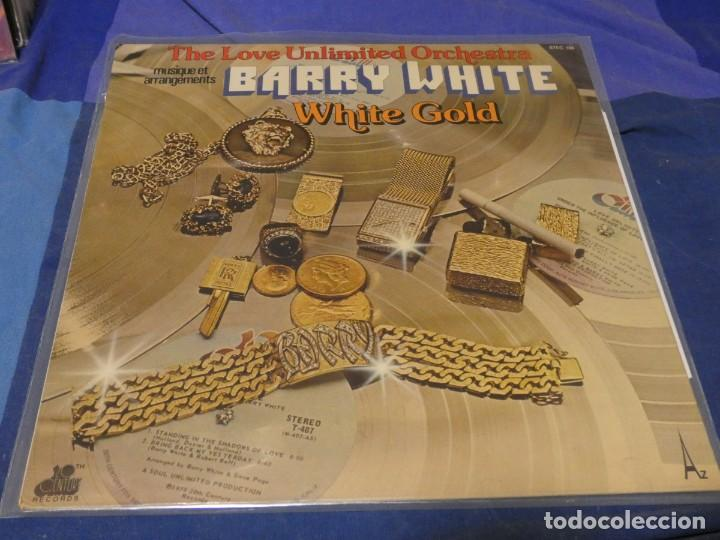 CAH08 LP THE LOVE UNLIMITED ORCHESTRA WHITE GOLD USA 1975 LEVES SEÑALES DE USO NO ESTA MAL (Música - Discos - LP Vinilo - Jazz, Jazz-Rock, Blues y R&B)