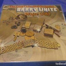 Discos de vinilo: CAH08 LP THE LOVE UNLIMITED ORCHESTRA WHITE GOLD USA 1975 LEVES SEÑALES DE USO NO ESTA MAL. Lote 229833930