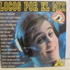 Disques de vinyle: LOCOS POR EL MIX - CHIMO BAYO, RICARDO F..... - 2 X LP - 1994 - SPAIN - VG/VG. Lote 229834470
