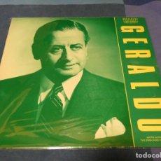 Discos de vinilo: BOXH67E LP JAZZ EUROPEO AÑOS 70-80 GRAN ESTADO GERALDO & HIS ORCHESTRA THE MAN AND HIS MUSIC. Lote 229841915