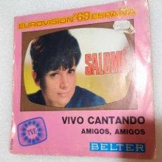 Dischi in vinile: SALOME - VIVO CANTANDO. Lote 229861700