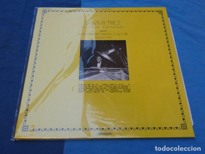 BOXH67C LP JAZZ EUROPEO AÑOS 70-80 GRAN ESTADO SAMMY PRICE BOOGIE WOOGIE BLUES NEW YORK 1955 (Música - Discos - LP Vinilo - Jazz, Jazz-Rock, Blues y R&B)