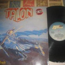 Discos de vinilo: TALON NEVER LOOK BACK 1985 STEAM HAMMER OG GERMANY RARO. Lote 229871260