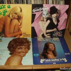 Discos de vinilo: LOTE 7 LP'S SEXY NUDE COVER. Lote 229888780