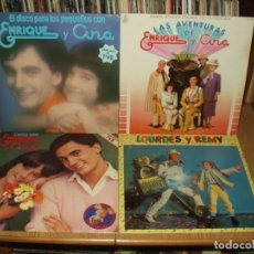 Discos de vinilo: LOTE 12 LP'S INFANTILES, GABY FOFO MILIKI... PARCHIS.. LA PANDILLA ETC. Lote 229889465
