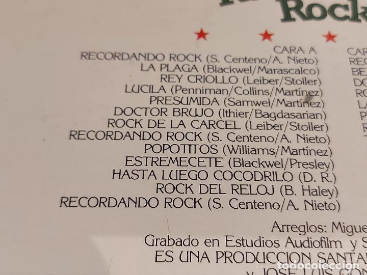 Discos de vinilo: LA ALEGRE BANDA / RECORDANDO ROCK / LP - ALBA-1979 / MBC. ***/*** - Foto 3 - 229899545