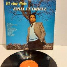 Discos de vinilo: EMILI VENDRELL / EL CLAR PAÍS / LP - OLYMPO-1976 / MBC. ***/***. Lote 229900100
