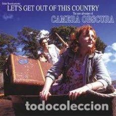 Discos de vinilo: CAMERA OBSCURA LET´S GET OUT OF THIS COUNTRYVINILO BLANCO NUEVO ELEFANT RECORDS. Lote 229914090