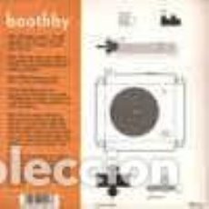 Discos de vinilo: BOOTHBY EVERYBODY KNOWS/ A STUPID THRILL CALLED LOVE/ CLICK POP VINILO NARANJA NUEVO ELEFANT RECORDS. Lote 229918160