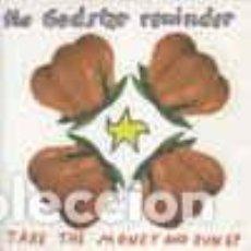Discos de vinilo: THE GODSTAR REMINDER TAKE THE MONEY AND RUN EP VINILO ROJO NUEVO ELEFANT RECORDS. Lote 229918415