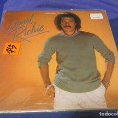 Discos de vinilo: CAH08 LP LIONEL RICHIE IDEM USA 1982 VINILO CORRECTO. Lote 229921800