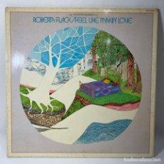 Disques de vinyle: LP - VINILO ROBERTA FLACK - FEEL LIKE MAKIN' LOVE - DOBLE PORTADA - ESPAÑA - AÑO 1975. Lote 229966055