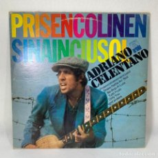 Discos de vinilo: LP - VINILO ADRIANO CELENTANO - PRISENCOLINENSINAINCIUSOL - ESPAÑA - AÑO 1974. Lote 229972015