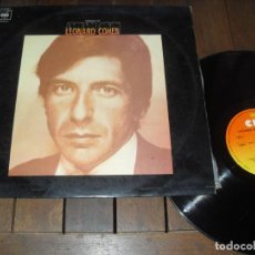 Disques de vinyle: LEONARD COHEN LP. SONGS OF LEONARD COHEN. MADE IN SPAIN 1971.. Lote 229981075