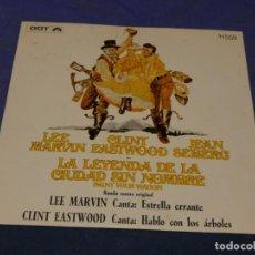 Discos de vinilo: EXPROBS0 DISCO 7 PULGADAS VINILO BUEN ESTADO LA LEYENDA DE LA CIUDAD SIN NOMBRE. Lote 229997905