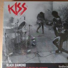 Discos de vinilo: KISS, BLACK DIAMOND. LAFAYETTE MUSIC ROOM, MEMPHIS 1974 - LP VINILO NUEVO PRECINTADO -. Lote 229999420