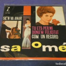 Discos de vinilo: EXPROBS0 DISCO 7 PULGADAS MUY BUEN ESTADO SALMOME SEN´VA ANAR. Lote 229999465