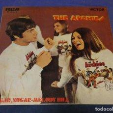 Discos de vinilo: EXPROBS0 DISCO 7 PULGADAS BUEN ESTADO THE ARCHIES OH SUGAR SUGAR. Lote 230000480