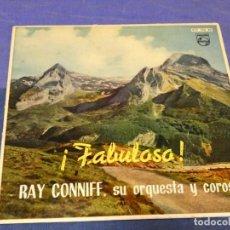Discos de vinilo: EXPROBS0 DISCO 7 PULGADAS BUEN ESTADO FABULOSO RAY CONIFF ORQUESTA Y COROS. Lote 230000610
