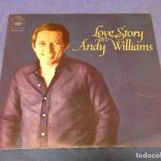 Discos de vinilo: EXPROBS0 DISCO 7 PULGADAS ANDY WILLIAMS LOVE STORY. Lote 230001055