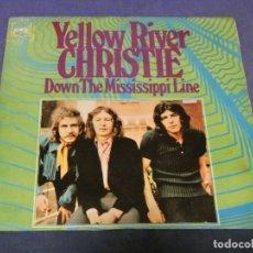 Discos de vinilo: EXPROBS0 DISCO 7 PULGADAS BUEN ESTADO AMARILLEA ATRAS CHRISTIE YELLOW RIVER. Lote 230001340