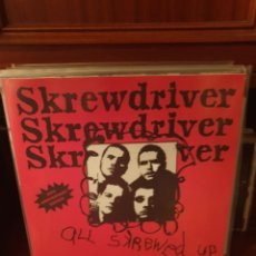 Disques de vinyle: SKREWDRIVER / ALL SKREWED UP / 40TH ANIVERSARY /NOT ON LABEL. Lote 230003190