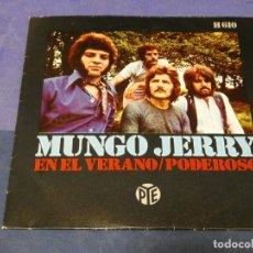 Discos de vinilo: EXPROBS0 DISCO 7 PULGADAS BUEN ESTADO MUNGO JERRY EN EL VERANO. Lote 230005450
