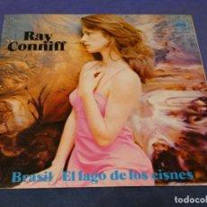 Discos de vinilo: EXPROBS0 DISCO 7 PULGADAS BUEN ESTADO RAY CONIFF EL LAGO DE LOS CISNES PROMO GFOLD. Lote 230005660