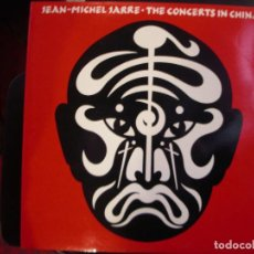 Disques de vinyle: JEAN MICHEL JARRE- THE CONCERTS IN CHINA. LP DOBLE.. Lote 230022015