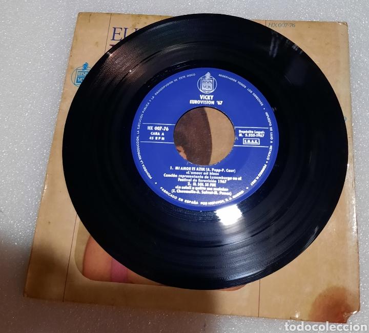 Discos de vinilo: Vicky - mi amor es azul + 3 - Foto 3 - 230023285