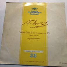 "Discos de vinilo: ANTON DVORAK SINFONIA 5 EN MI MENOR OP.95 ""NUEVO MUNDO"". Lote 230032895"