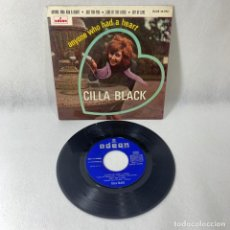Discos de vinilo: SINGLE CILLA BLACK -- ANYONE WHO HAD A HEART -- 1964 -- ESPAÑA -- VG. Lote 230038760