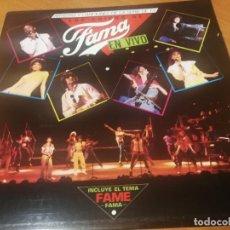 Discos de vinilo: LOS CHICOS DE FAMA EN VIVO - ARTISTAS Y CANCIONES DE LA SERIE DE TV - LP - RCA 1983 -MUY BUEN ESTAD. Lote 230049960