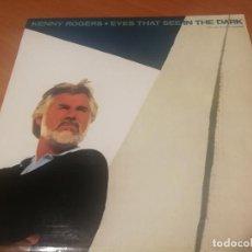 Discos de vinilo: KENNY ROGERS. EYES THAT SEE IN THE DARK RCA 1983 BUEN ESTADO. Lote 230056170