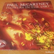 Discos de vinilo: PAUL MACCARTNEY ( THE BEATLES ) FLOWERS IN THE DIRT LP DE 1989 - EMI- RECORDS BUEN ESTADO. Lote 230058870